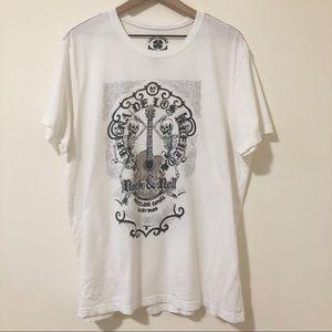Lucky Brand Dancing Skeletons Barcelona Tee Shirt